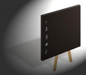 top 5 list on blackboard